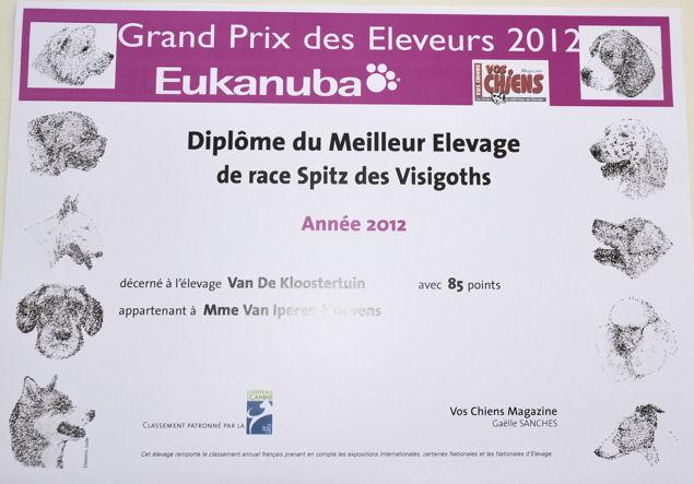 Meilleur Elevage 2012