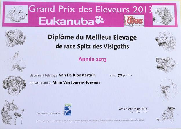 Meilleur Elevage 2013
