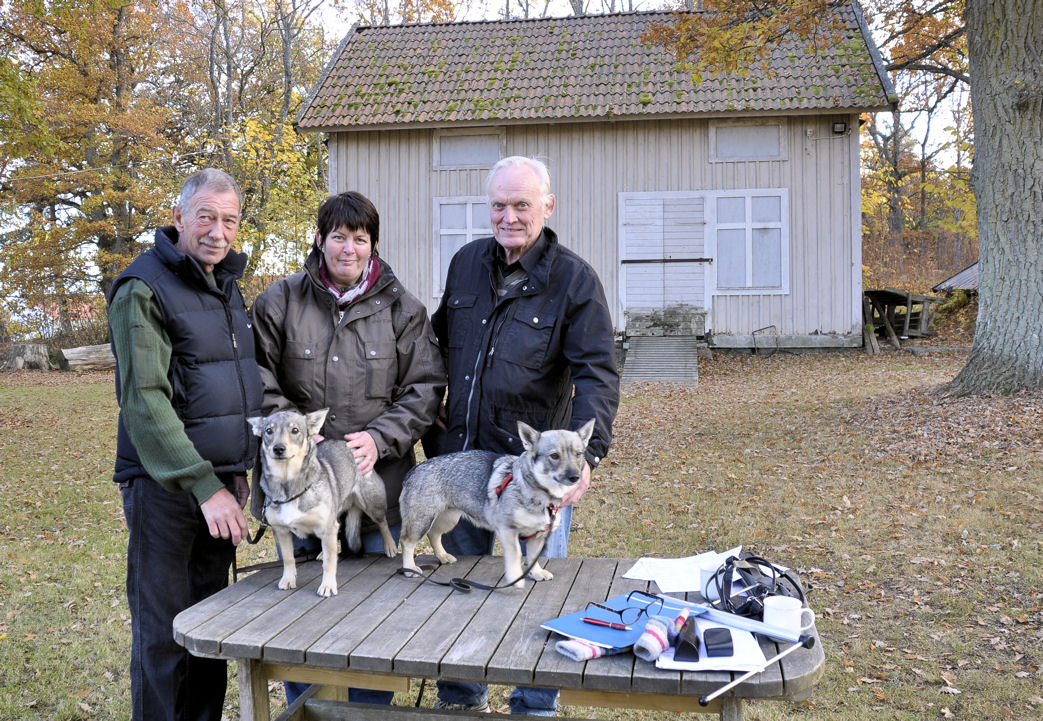Gunnar Smedberg, Janet van Iperen-Hoevens, Peter Erlandsson